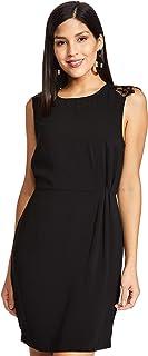 VERO MODA Women's Shift Knee-Long Dress