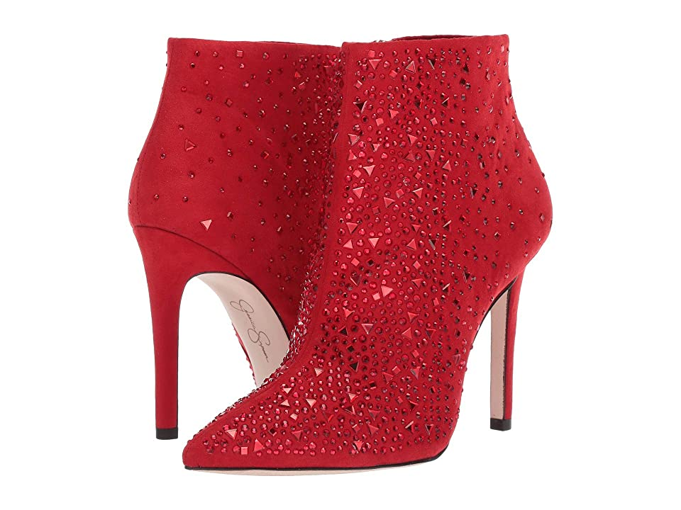 Jessica Simpson Prexton (Red Muse Deluxe Microsuede) Women