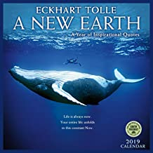 A New Earth 2019 Wall Calendar: A Year of Inspirational Quotes