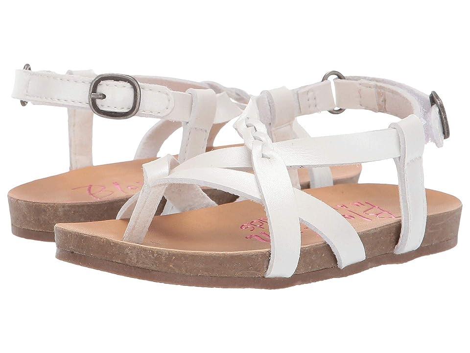 Blowfish Kids Granola B T (Toddler/Little Kid) (Pearl White Dyecut PU) Girls Shoes