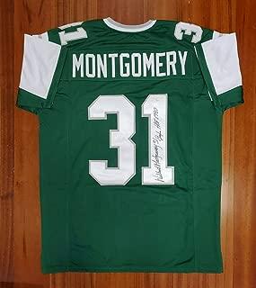Wilbert Montgomery Autographed Jersey - JSA Certified - Autographed NFL Jerseys