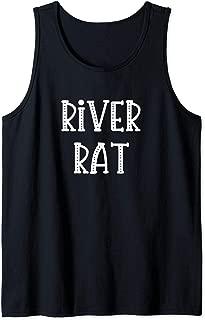 River Rat for Women or Girls Float Trip Camping Tank Top