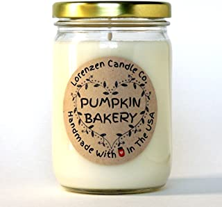 Pumpkin Bakery Soy Candle, 12oz | Handmade in the USA with 100% Soy Wax