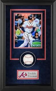 Freddie Freeman Atlanta Braves Framed Autographed Baseball Shadowbox - Fanatics Authentic Certified - Autographed Baseballs