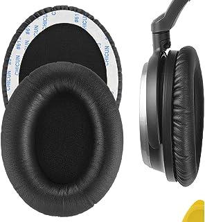 Geekria イヤーパッド 互換性 パッド Audio-Technic ATH-ANC7, ANC9, ANC27, ANC29 ヘッドホンに対応 パッド イヤークッション/イヤーカップ(ブラック)