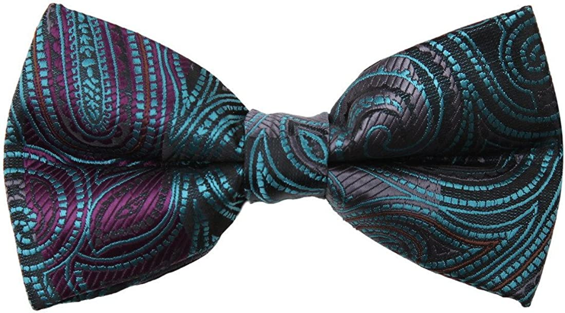 Mens Pre-tied Bow Tie Dan Smith M cheap Men's Patterned Series sold out Fashion
