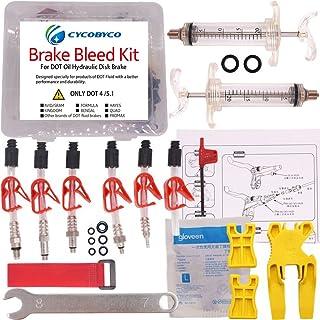 Cycobyco DOT - Kit de freno de disco de aceite para bicicleta, herramienta para Avid sram, Dode, Juicy, Hope, Bngal, Hayes, fórmula J3 J5 J7