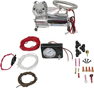 Touring Tech Towing Assist Air Bag Suspension Load Controller On Board Compressor Kit