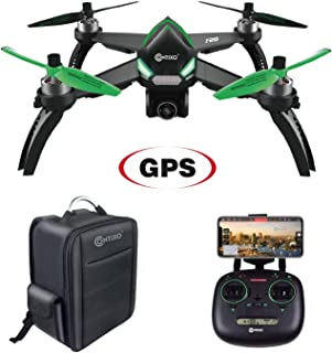 Contixo F20 RC GPS Quadcopter Photography Drone   5GHz WiFi Transmission 1080p Camera Drone HD, Follow Me, 20 Minute Flight Time, Long Control Range,1-Key Takeoff/Landing Includes Storage Backpack