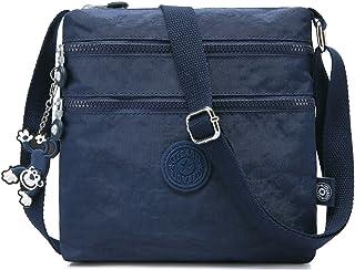 0414aac4441 Foino Women Shoulder Bag Travel Cross Body Bag Casual Messenger Bag for  Sport Fashion Satchel Girls