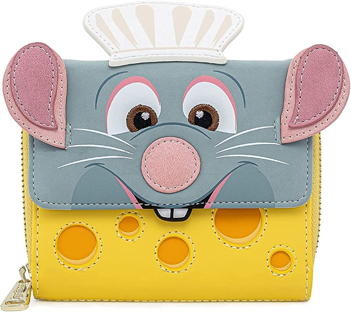 Loungefly x Disney Pixar Ratatouille Chef Cosplay Wallet : Clothing, Shoes & Jewelry