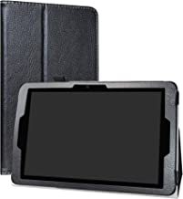 ZTE ZPad 10 Inch Tablet Case,LiuShan PU Leather Slim Folding Stand Cover for 10.0