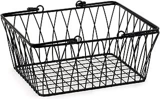 Best metal farmhouse baskets Reviews