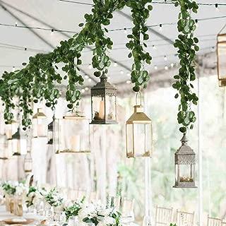 wedding table decorations greenery