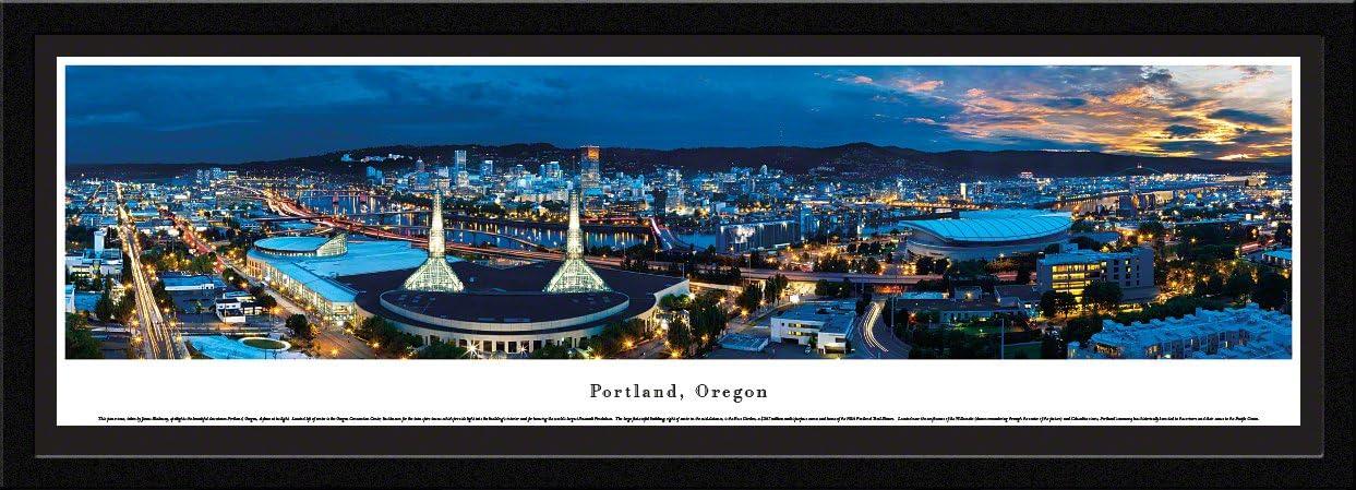 Blakeway Worldwide Panoramas Portland free shipping Max 76% OFF Oregon-Blakeway