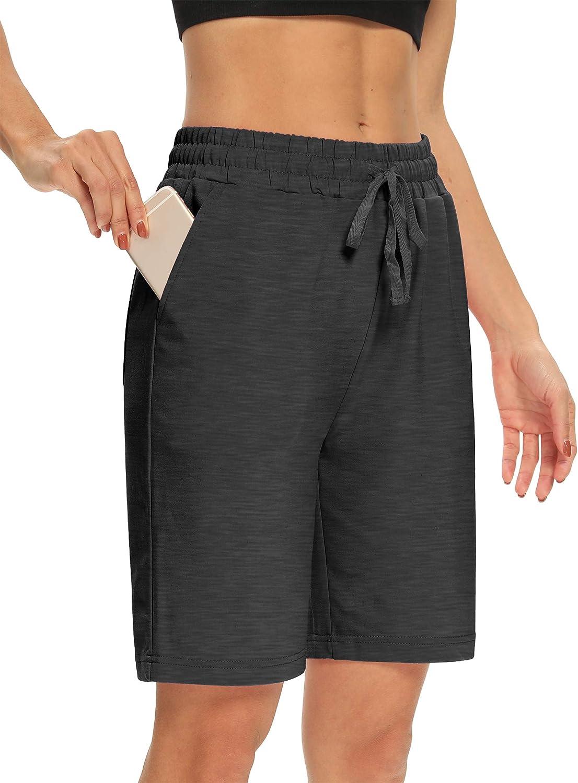 DIBAOLONG Womens Yoga Shorts Loose discount Bermu All items free shipping Comfy Lounge Drawstring