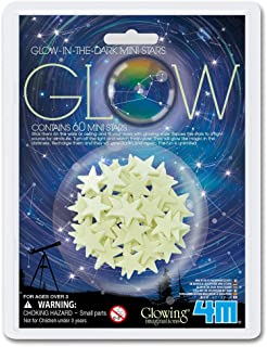 4M 405423 Glow-in-the-Dark Mini Stars (60 Piece)