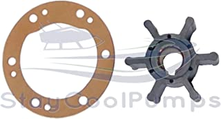 StayCoolPumps Impeller Kit Replaces Yanmar Impeller 124223-42092 Gasket 124223-42110 Fits 2-3/4 Cover