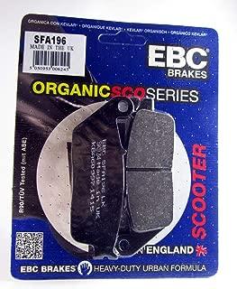 EBC SFA228 Pastillas de Freno compatibles con Kymco Agility 50 125 Cobra 100 Like Sento Vitality Yup