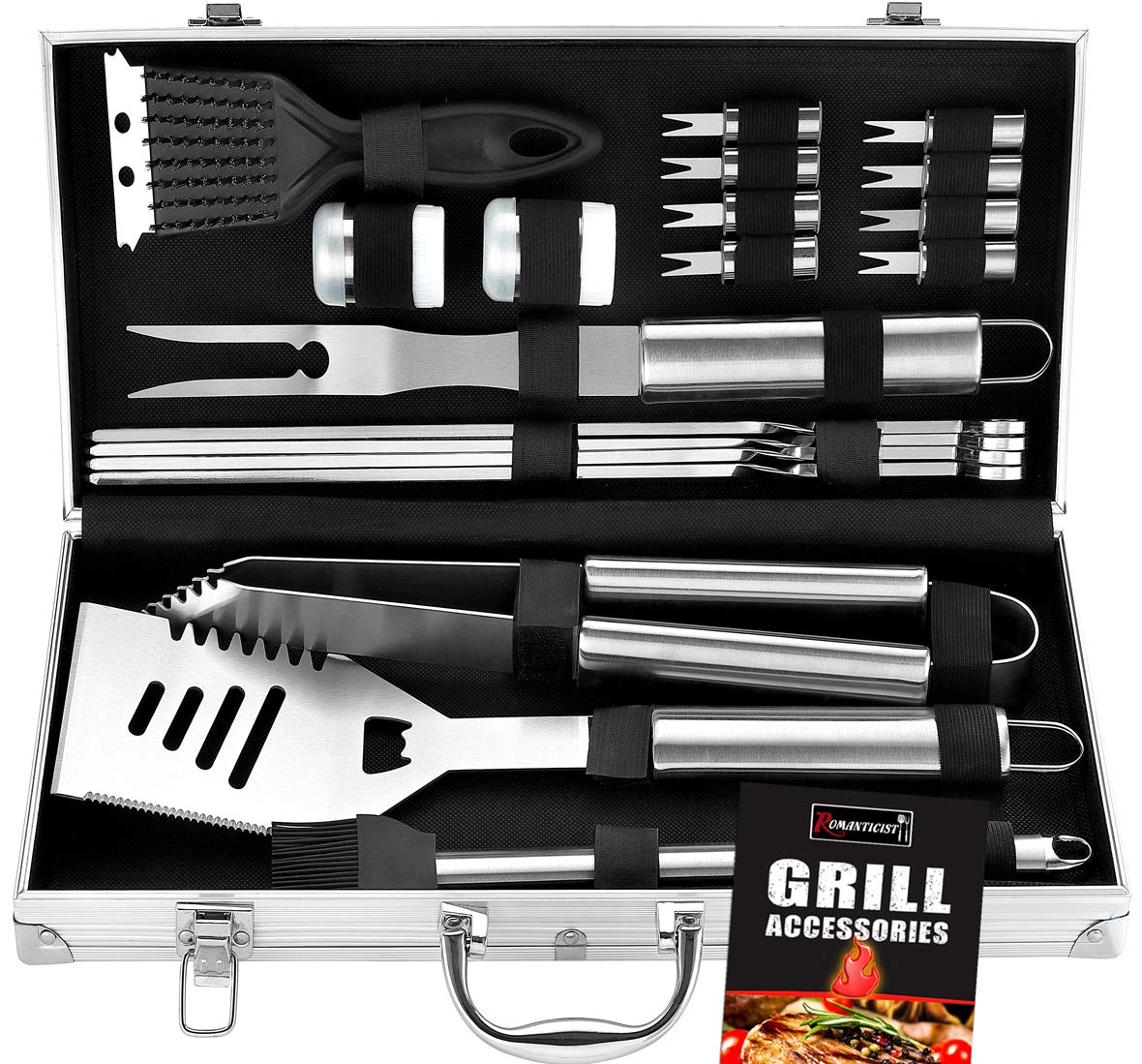 ROMANTICIST Stainless Steel Grill Package
