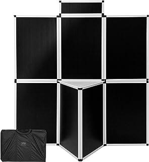 TecTake 800667 - Panneaux d'exposition 180x200 cm, Y compris la Table pratique, Cadre en Aluminium léger - diverses Couleu...