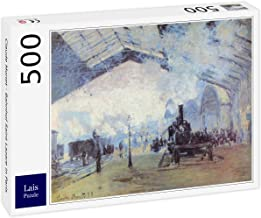 Lais Puzzle Claude Monet - estación de Tren Saint Lazare en París 500 Piezas