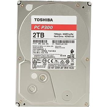 Toshiba P300 - Disco Duro Interno de 2 TB, 3.5