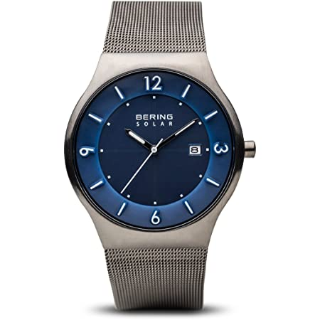 BERING Men's Analogue Quartz Watch with Stainless Steel Strap 14440-007