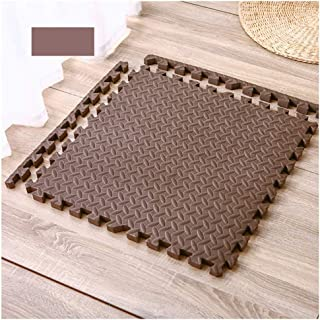 Megaprom 9 TLG Blau 90 x 90cm Puzzlematte Spielmatte Bodenmatte Turnmatte Bodenschutzmatte Poolmatte Schaumstoffmatte Set