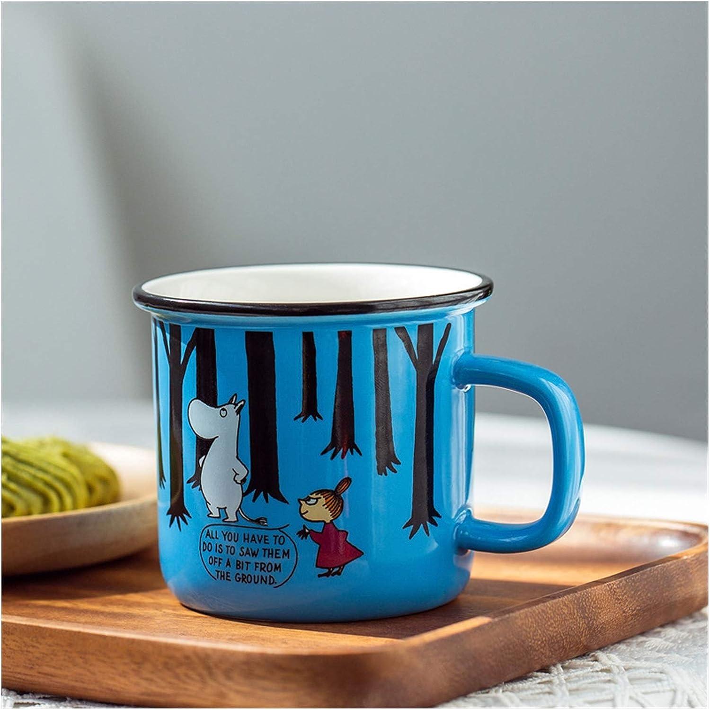 2021new shipping free shipping Water cup Creative ceramic mug coffee Cheap SALE Start retro fashion cartoon