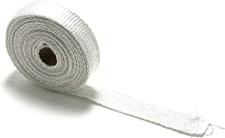 25 ft- White Fiberglass Exhaust Header Wrap Roll Pipe Themal Heat Protection (1 Wide 25' Long)