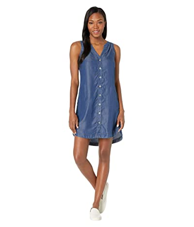 Prana Talton Dress (Antique Blue) Women