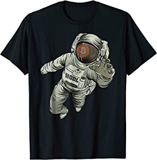 Bitcoin Logo BTC Moon T-Shirt