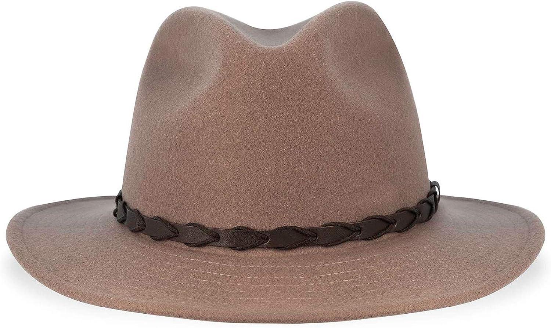 Tilley Mens Womens TWF1 Guaranteed for Life Water Repellent Montana Wool Fedora Hat