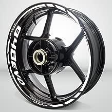 Gloss White Motorcycle Rim Wheel Decal Accessory Sticker for Ducati 848 EVO