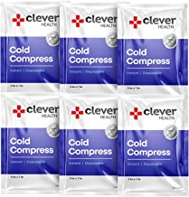 Instant Cold Pack | Disposable Ice Packs - Cold Therapy - for Injuries, Swelling, Inflammation, Muscle Strains, Sprains, P...