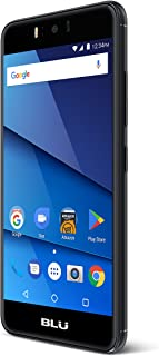 "BLU R010P R2-Black Factory Phone, 5.2"" Screen, 8GB, Black"