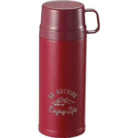 キャプテンスタッグ(CAPTAIN STAG) スポーツボトル 水筒 直飲み・コップ飲み 2WAY ダブルステンレスボトル 真空断熱 保温・保冷 600ml レッド モンテ UE-3450