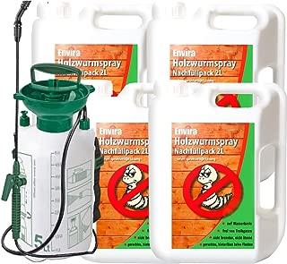 Envira Holzwurm frei Spray 4x2Ltr  5Ltr Sprüher