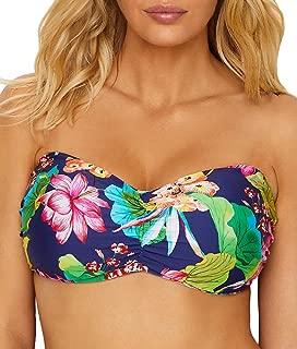 La Blanca Womens Delux Bora Bikini Top, 34Dd, Blue
