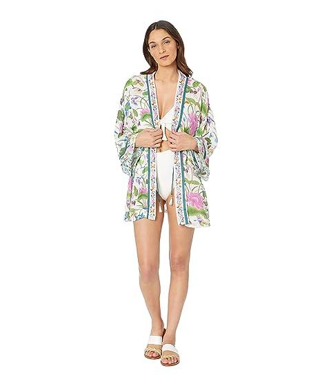 e0dc7170a4 Nanette Lepore Opulent Garden Kimono Cover-Up at Zappos.com