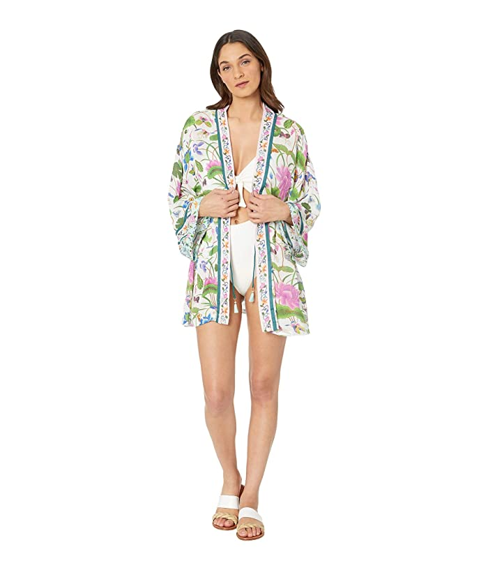 Nanette Lepore Opulent Garden Kimono Cover-Up (Multicolored) Women