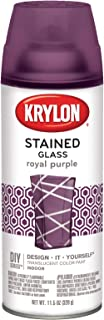 Krylon K09027000 Stained Glass Paint EMW1603968, 11.5 oz, Royal Purple, 6 1