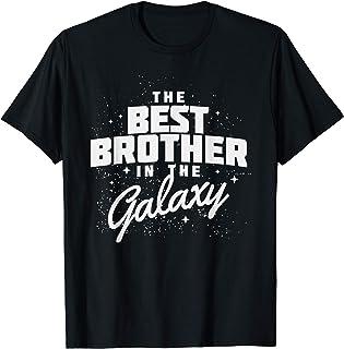 Best Brother in the Galaxy Shirt Men Boy Gift T-Shirt