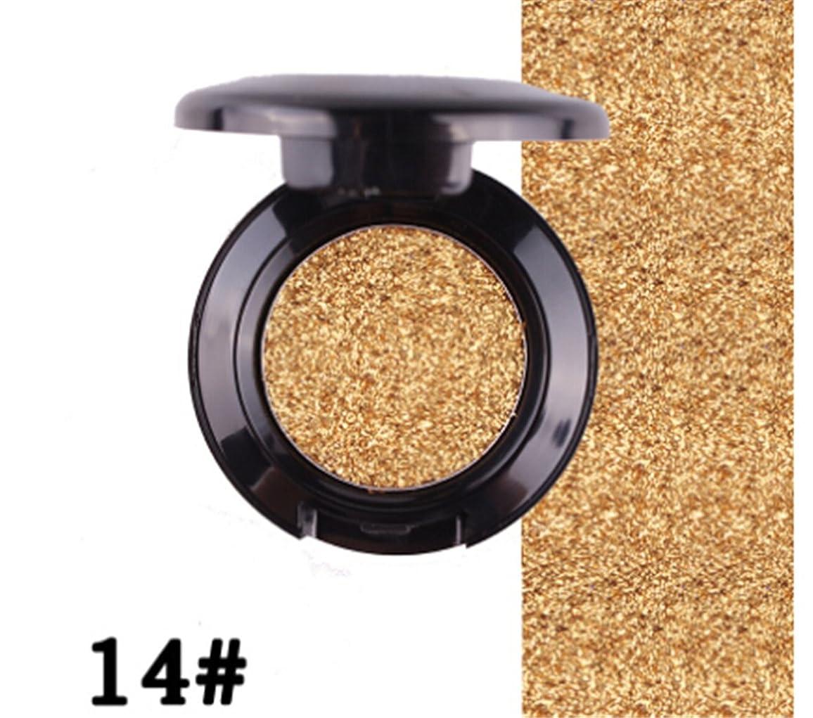 ステージ配置以上Tmrow Professional Single防水メイクアップグリッターLong Lasting Eyeshadow Palette As description