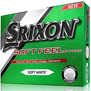 Srixon Soft Feel Men's Golf Balls, Prior Generation (One Dozen)
