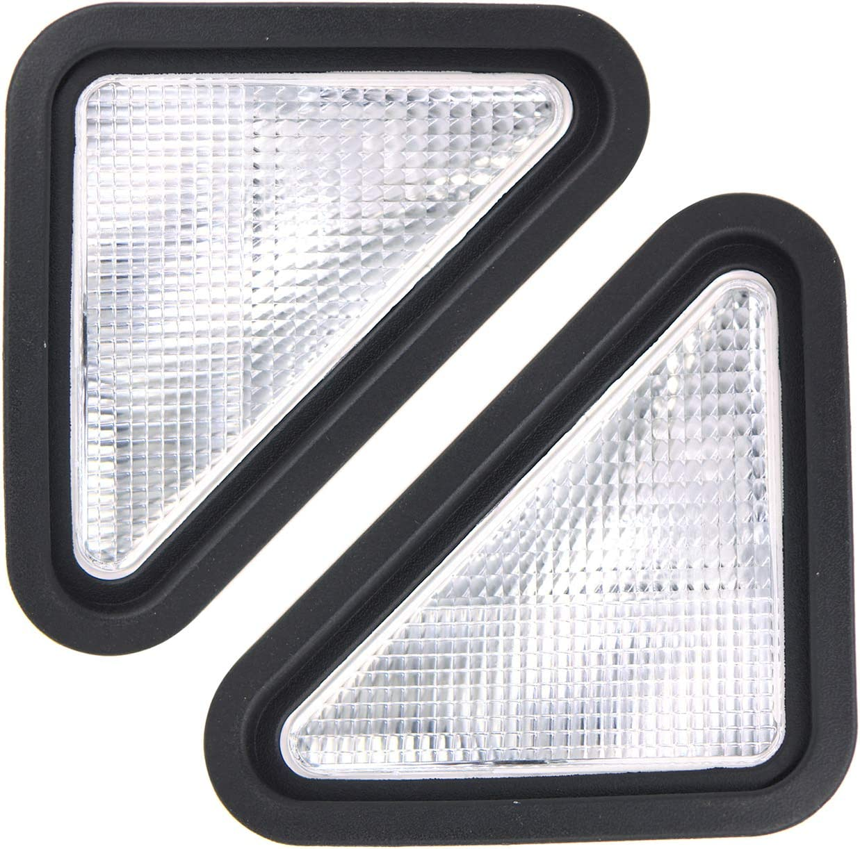 Weelparz Oakland Mall 6718042 LH RH Headlight with Raleigh Mall 6718043 Compatible Bobcat