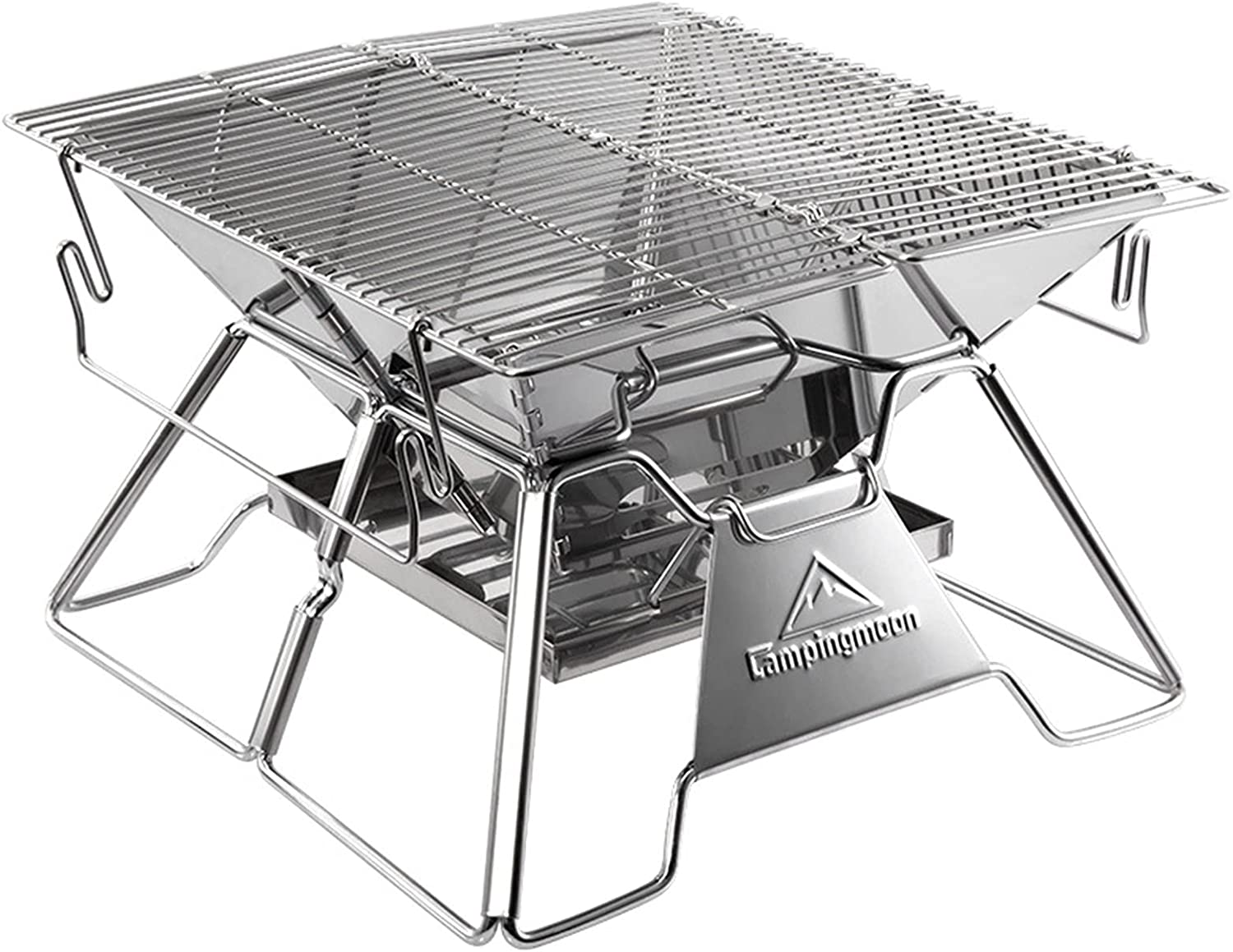 UAAA Portable Super intense SALE Folding Outdoor BBQ Stove Camping Stov Ranking TOP10 Grill