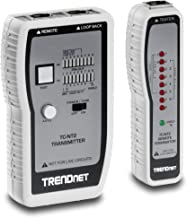 TRENDnet Network Cable Tester, Tests Ethernet/USB & BNC Cables, Accurately Test Pin Configurations up to 300M (984 ft), TC-NT2
