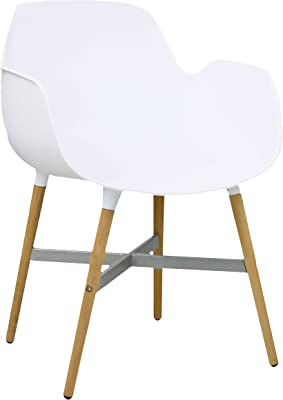 Porthos Home Margo Eames-Inspired Dining Chair (Set of 2), White